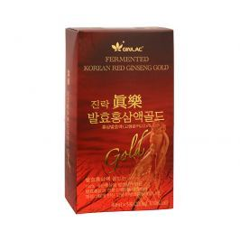 GINLAC Fermented Red Ginseng Power Drink GOLD - ženšenový nápoj 5 x 40 ml