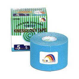 TEMTEX Tejp. TEMTEX kinesio tape 5 cm x 5 m Žlutá