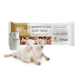 Vitalo Funkční čokoláda Goat milk 25g
