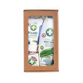 ANNABIS Přírodní regenerace tělové mléko 250 ml + pleťový krém 15 ml + mast 15 ml dárková sada