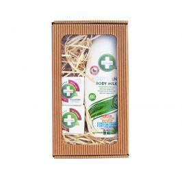 Annabis Dárkové balení Krásná pleť - Bodycann tělové mléko + Cremcann Hyaluron 15 ml + Balcann 15 ml