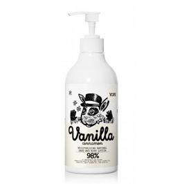 Yope Hydratační tělové mléko Vanilka a skořice BIO 500 ml