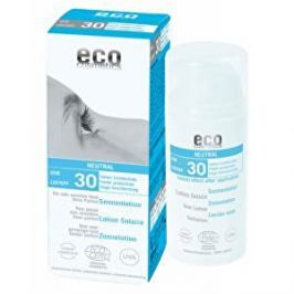 Eco Cosmetics Opalovací krém Neutral bez parfemace SPF 30BIO 100 ml