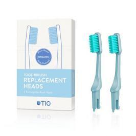 Tio Náhradní hlavice k zubnímu kartáčku (ultra soft) 2 ks - ledovcově modrá