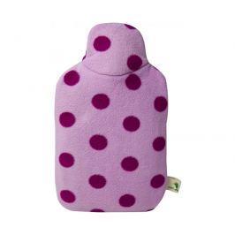 Hugo-Frosch Dětský termofor Eco Junior Comfort s fleecovým obalem - růžový