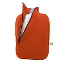 Hugo-Frosch Termofor Eco Classic Comfort se softshellovým obalem - oranžový