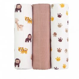 T-tomi Látkové TETRA pleny 70 x 70 cm 3 ks Monkey /opice