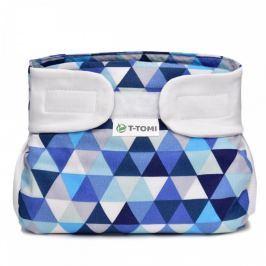 T-tomi Abdukční kalhotky (3 - 6 kg) Modré trojúhelníky
