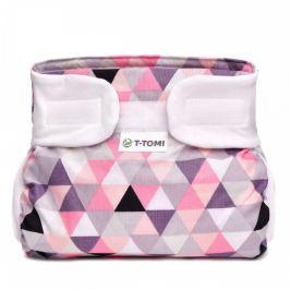 T-tomi Abdukční kalhotky (3 - 6 kg) Růžové trojúhelníky
