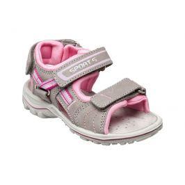 SANTÉ Zdravotní obuv dětská OR/25302 šedo-růžová vel. 34
