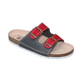 SANTÉ Zdravotní obuv dámská D/21T/911/910/BP červeno-šedá vel. 42