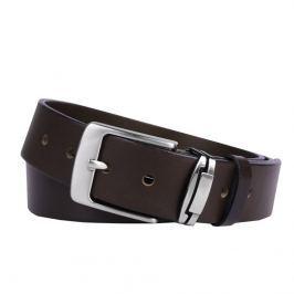 Penny Belts Pánský kožený opasek R1, tmavě hnědý