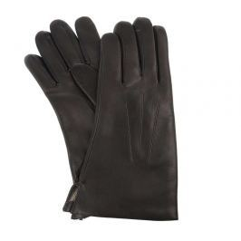 Vystyd Dámské kožené rukavice 1423 velikost 6,5 - tmavě hnědá