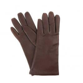 Vystyd Dámské kožené rukavice 918, velikost 6.5, hnědá