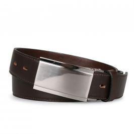 Penny Belts Pánský kožený opasek 35/020, tmavě hnědý