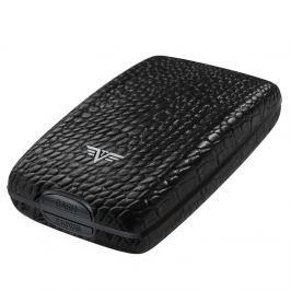 Tru Virtu Cash and Cards, Leather Line - černá krokodýlí