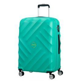 American Tourister Střední cestovní kufr AMT CRYSTAL GLOW 64 l - tyrkysová