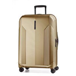 March Velký cestovní kufr New manhattan 126 l - zlatá