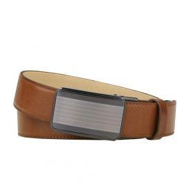 Penny Belts Pánský kožený opasek 35/020/A11, hnědý