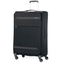 American Tourister Cestovní kufr Herolite Super Light Spinner 26G*006 95 l - černá