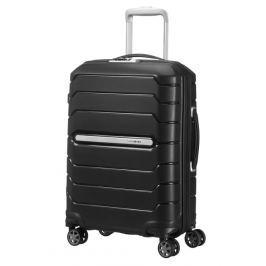 Samsonite Kabinový cestovní kufr Flux Spinner CB0 37/44 l - černá