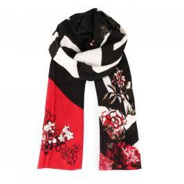 Desigual Dámský obdélníkový šátek Foulard Extraordinary 17WAWK21-3007