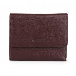 Esquire Dámská kožená peněženka 127805 - vínová
