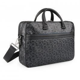 Calvin Klein Pánská taška přes rameno ze syntetické kůže Greg Mono E Laptop 14'' K50K502826, černá
