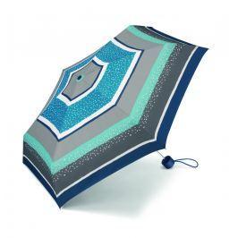 ESPRIT Deštník Petito Sparkle stripe 50094 - modrá