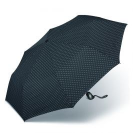 Happy Rain Deštník Easymatic Ultra Light rhomb 37001 - černá