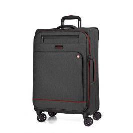 March Velký cestovní kufr Shorttrack 104 l - černá