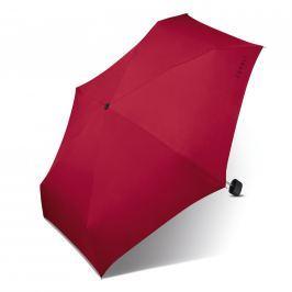 ESPRIT Deštník s pouzdrem Esbrella flagred  50416 - červená