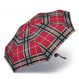 Happy Rain Deštník Petito Checks Red 33024 - červená