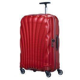 Samsonite Cestovní kufr Cosmolite Spinner V22 68 l - červená