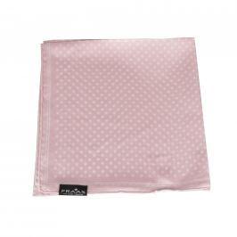 Fraas Dámský hedvábný čtvercový šátek  612168-410 - růžová