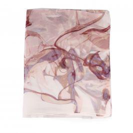 Fraas Dámský hedvábný obdélníkový šátek 622153-380 - starorůžová