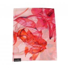 Fraas Dámský hedvábný obdélníkový šátek 622153-450 - růžová