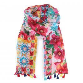 Desigual Dámský obdélníkový šátek Foulard Little 18SAWW60 - multicolor