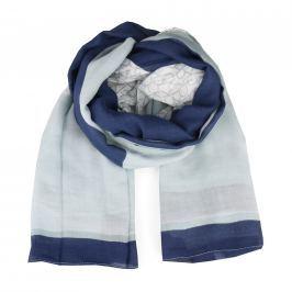 Calvin Klein Dámský čtvercový šátek New Joyce K60K604137 - modrá