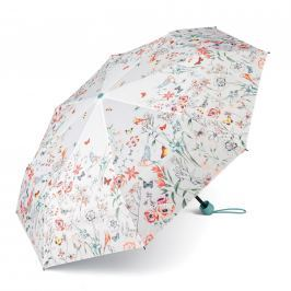 ESPRIT Květinový deštník  Flowers & Birds 53117 - bílá