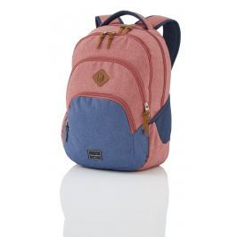 Travelite Batoh Basics Backpack Melange Red/navy