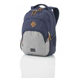 Travelite Travelite Basics Backpack Melange Navy/grey