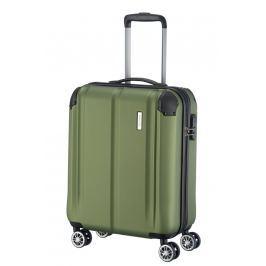 Travelite Travelite City 4w S,M,L Green – sada 3 kufrů