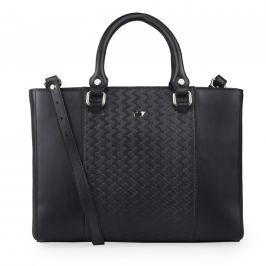 Braun Büffel Dámská kožená kabelka Salerno 47561 - černá