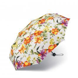 Happy Rain Deštník Tropical 42090 - bílá