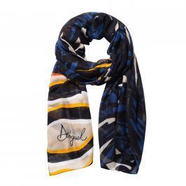 Desigual Dámský obdélníkový šátek Foul Jungle 18WAWW33 - multicolor