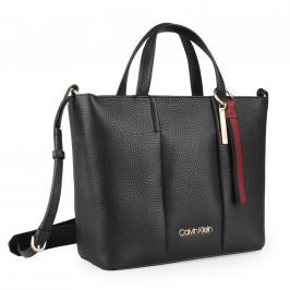 Calvin Klein Dámská kožená kabelka City Medium K60K604478 - černá