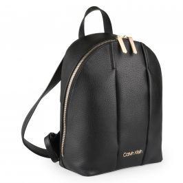 Calvin Klein Dámský kožený batoh City K60K604479 - černá