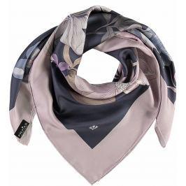 Fraas Dámský hedvábný čtvercový šátek 632140 - fialová