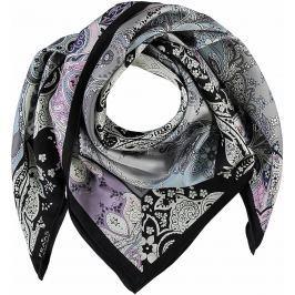 Fraas Dámský hedvábný čtvercový šátek 632141 - černá